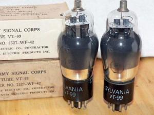 Sylvania 6F8G-VT-99 T-Plates