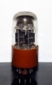 Raytheon 2C50/12SN7 Black Plates - 1