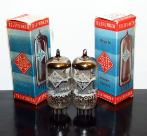 Telefunken ECC801S Triple Mica